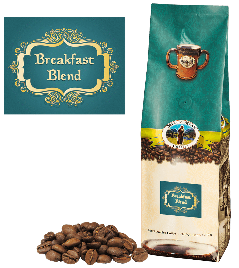 Breakfast Blend Whole Bean 12 Oz. - EuroMax Foods The Good Food Store