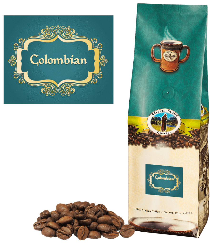 Colombian Whole Bean 12 Oz. - EuroMax Foods The Good Food Store