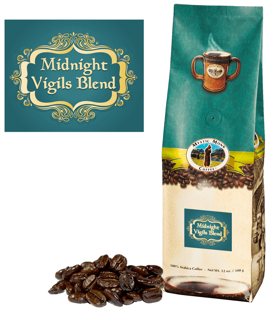 Midnight Vigilis Blend Whole Bean 12 Oz. - EuroMax Foods The Good Food Store