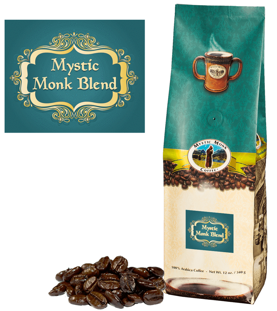 Mystic Monk Blend Whole Bean 12 Oz. - EuroMax Foods The Good Food Store