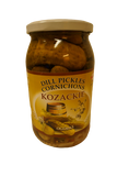 "Dill Pickles Cornichons ""Kozackie"" - EuroMax Foods The Good Food Store"