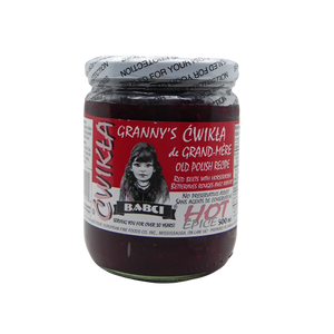 Granny's Red Beet Horseradish 500ml - EuroMax Foods The Good Food Store