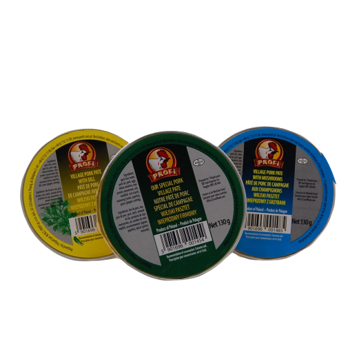 "Village Pork Pate ""Profi"" 130g - EuroMax Foods The Good Food Store"