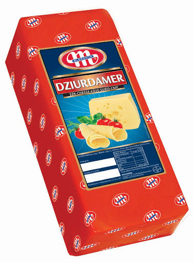 Dziurdamer Cheese  100g (Sliced) - EuroMax Foods The Good Food Store