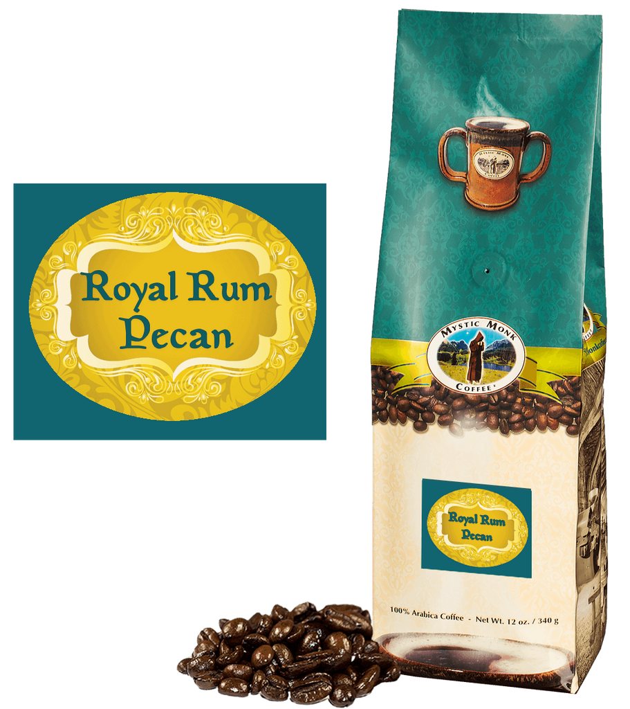 Royal Rum Pecan Whole Bean 12 Oz. - EuroMax Foods The Good Food Store
