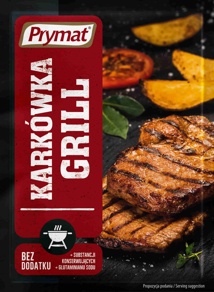Prymat Grill  Seasoning 30g - EuroMax Foods The Good Food Store