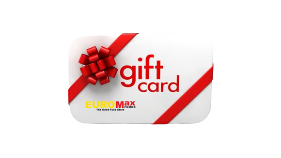 EuroMax Foods Gift Card - EuroMax Foods The Good Food Store
