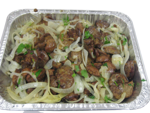 Roasted Chicken Liver with Onion - EuroMax Foods The Good Food Store
