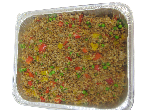 Roasted Barley with Vegetables