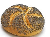 Bun Kaiser with Poppy Seeds 50g - EuroMax Foods The Good Food Store