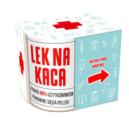 "Mug ""Lek na kaca"" - EuroMax Foods The Good Food Store"