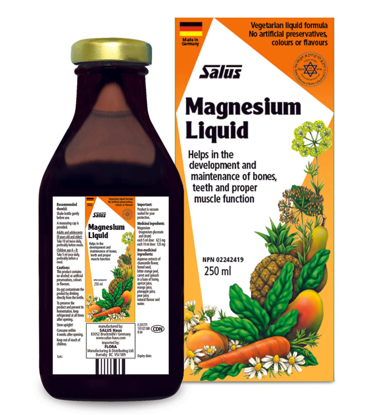 Magnesium Liquid 250ml - EuroMax Foods The Good Food Store