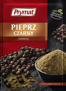 Prymat Prymat Black Pepper 20g - EuroMax Foods The Good Food Store
