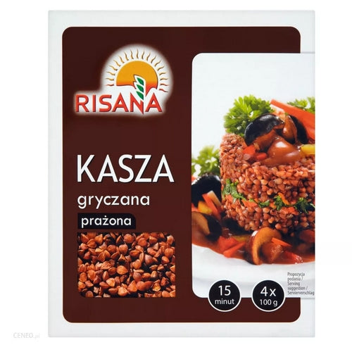 Risana Roasted Buckwheat 400g - EuroMax Foods The Good Food Store