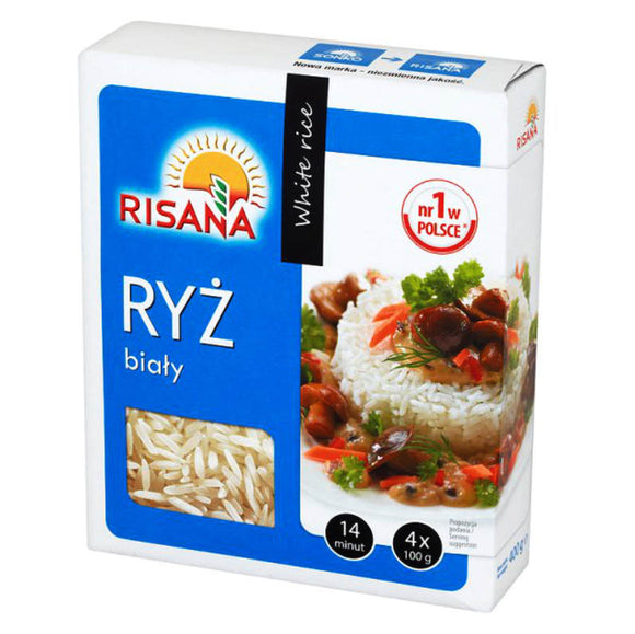 White Rice Risana 400g - EuroMax Foods The Good Food Store