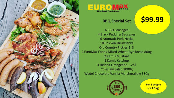 BBQ Special Set Large - EuroMax Foods The Good Food Store