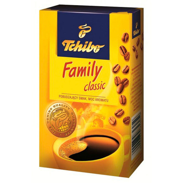 Tchibo Family Ground Coffee 250g - EuroMax Foods The Good Food Store