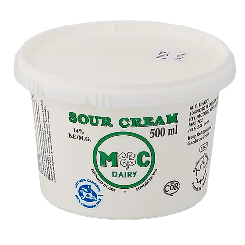 Sour Cream 500ml - EuroMax Foods The Good Food Store