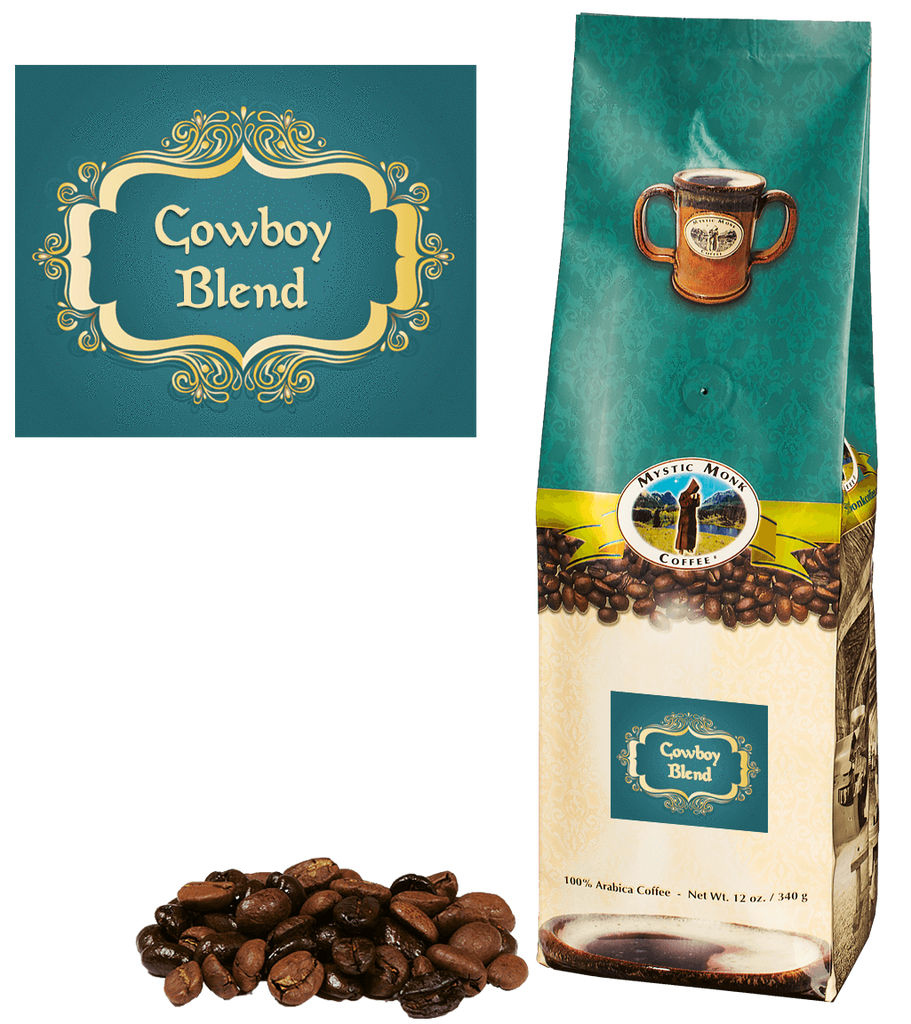 Cowboy Blend Whole Bean 12 Oz. - EuroMax Foods The Good Food Store