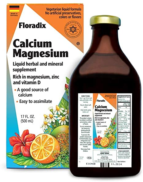 Calcium Magnesium Liquid 250ml - EuroMax Foods The Good Food Store