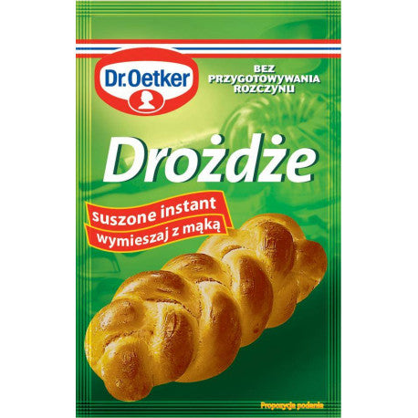 Instant Dried Yeast Dr Oetker 7g - EuroMax Foods The Good Food Store
