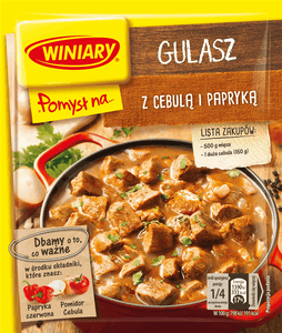Winiary Idea for...Stew with onions and peppers  47g - EuroMax Foods The Good Food Store