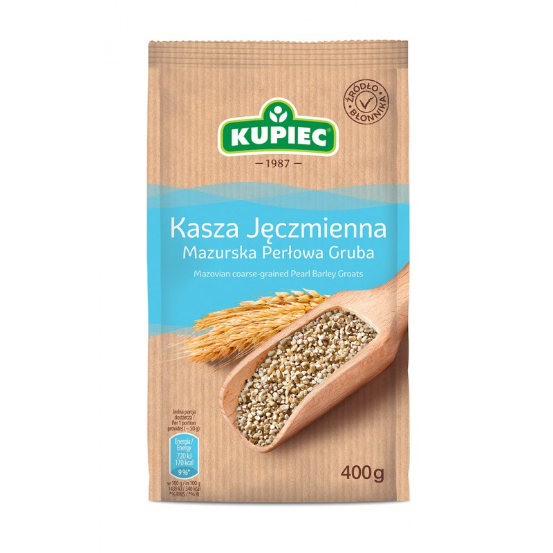 Kupiec Masurian Barley Thick 400g - EuroMax Foods The Good Food Store