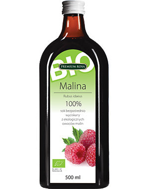 Premium Rosa Raspberry Juice BIO 100% 500ml - EuroMax Foods The Good Food Store
