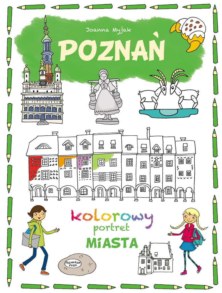 "Book ""Kolorowy Portret Miasta"" - EuroMax Foods The Good Food Store"