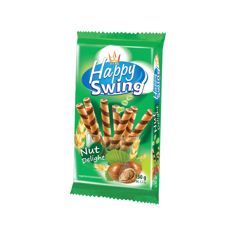 """Happy Swing"" Waffle Rolls 150g - EuroMax Foods The Good Food Store"