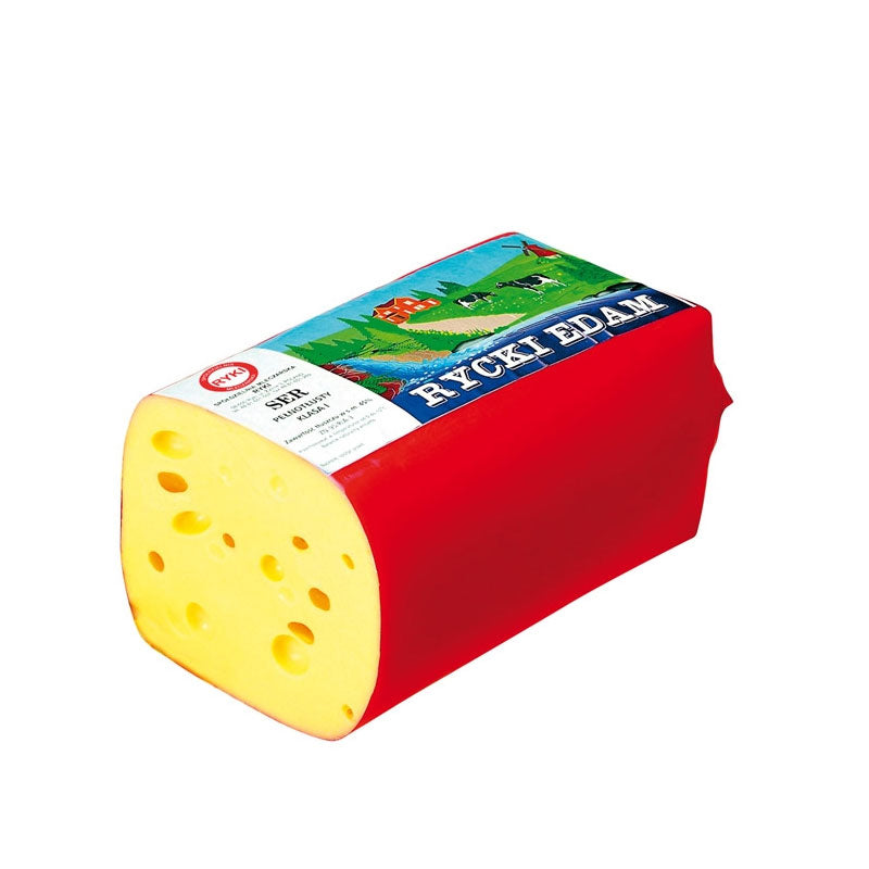 Rycki Edam Cheese 100g(Sliced) - EuroMax Foods The Good Food Store