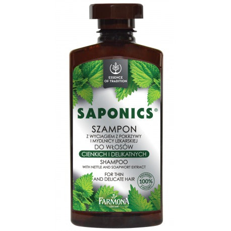 Farmona Saponics Shampoo With Nettle and Soapwort Extract 330ml - EuroMax Foods The Good Food Store