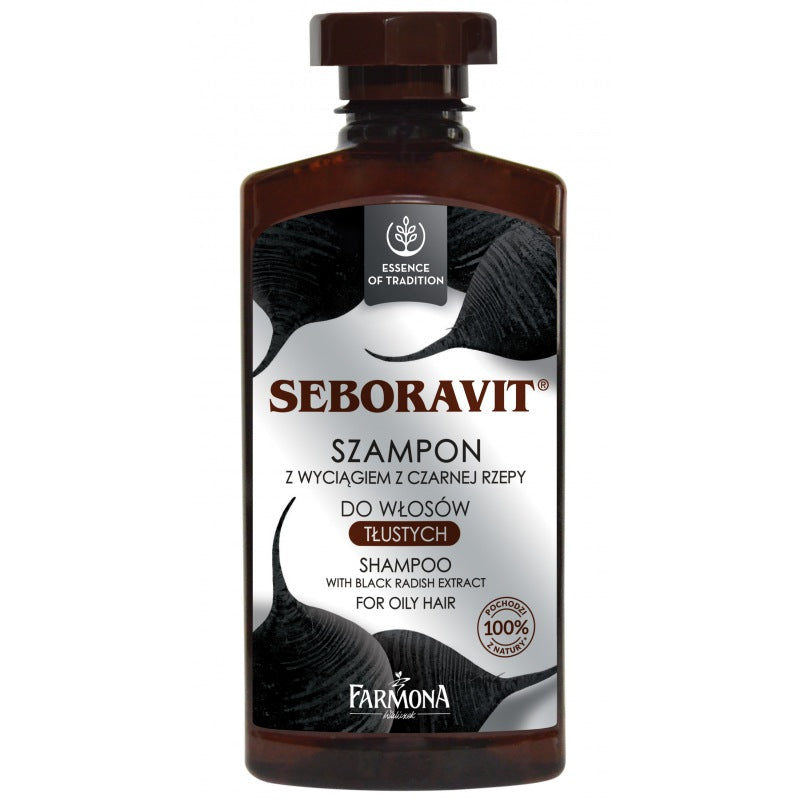 Farmona Seboravit Shampoo With Black Radish Extract 330ml - EuroMax Foods The Good Food Store