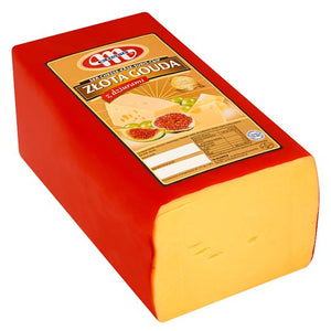 Złota Gouda Cheese  100g (Sliced) - EuroMax Foods The Good Food Store