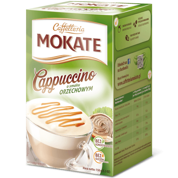 Mokate Cappuccino Coffee 150g - EuroMax Foods The Good Food Store