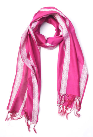 Blushing in Summer Scarf