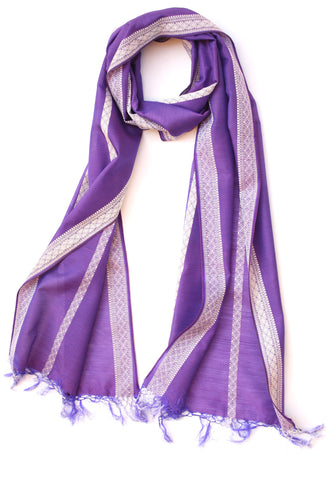 Majestic Purple Scarf