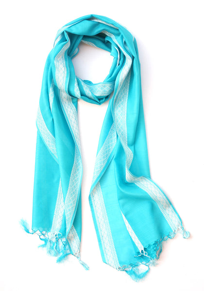 Cyan Before Dawn Scarf