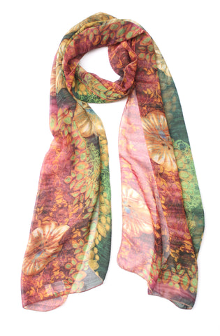 Painter's Night Forest Scarf