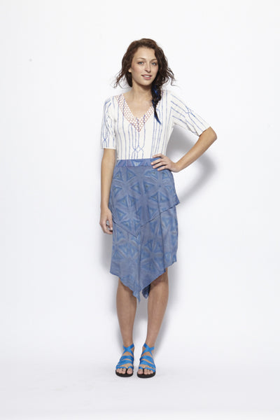 Soft Shibori Skirt