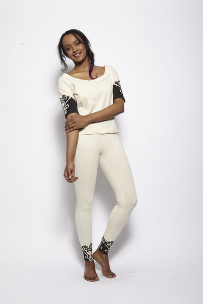 Oscillant Cream Top