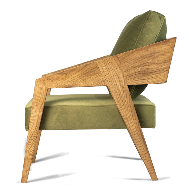 Randi  Armchair, Oak Wood