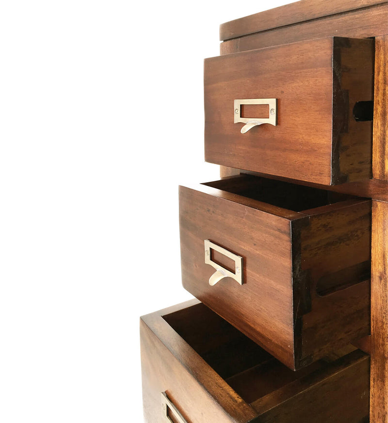 4+2 Drawers 2 Doors Console Table