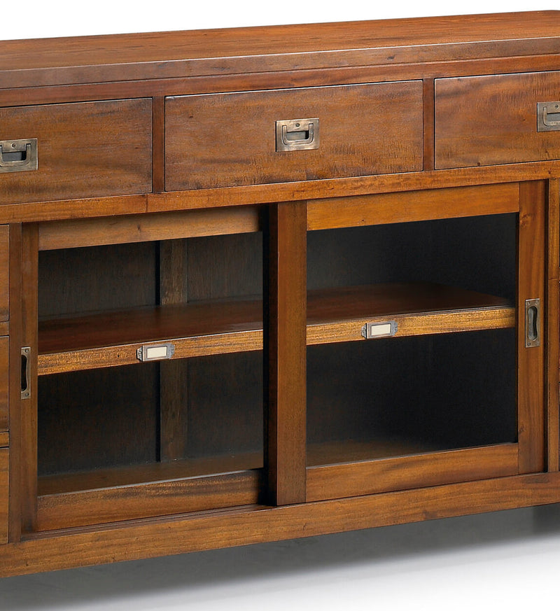 9 Drawer 2 Sliding Doors Buffet