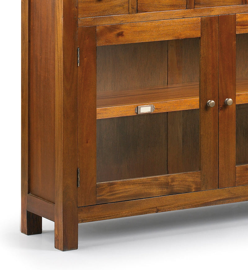 5 Drawers 2 Doors Console Table