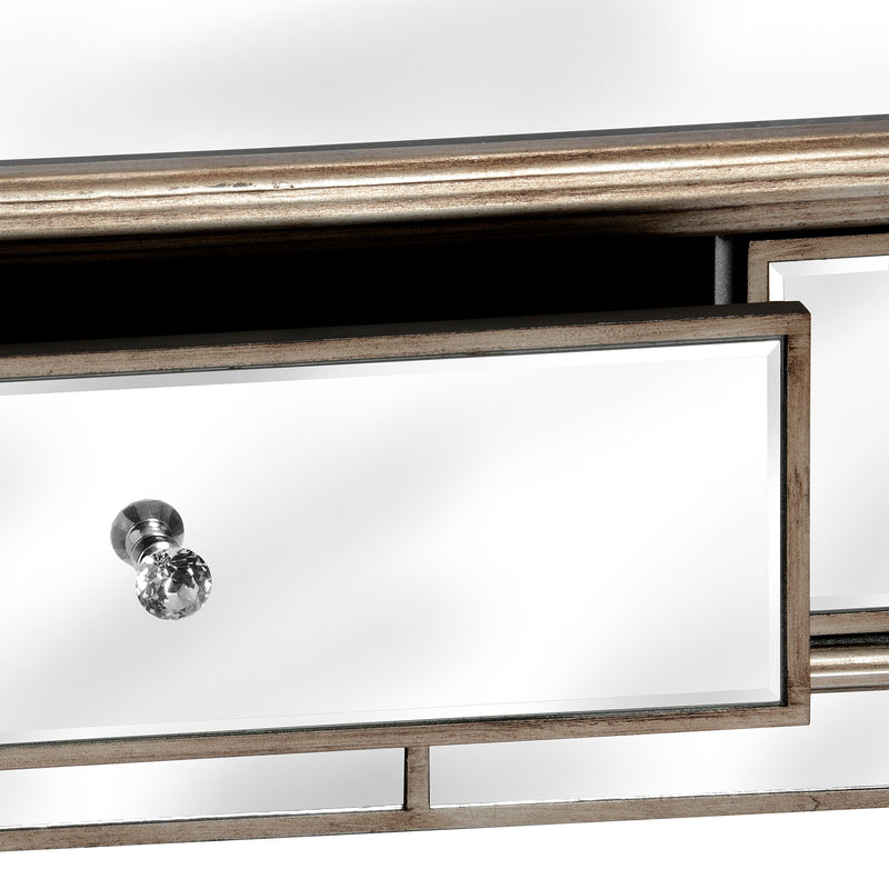 Handcrafted Mirrored Coffee Table