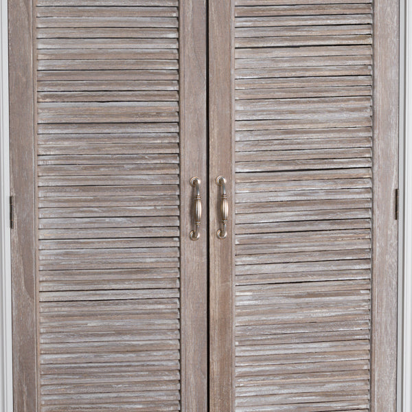 Louvered Doors Cupboard