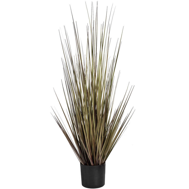 Medium Potted Spray Grass in Rusts and Green