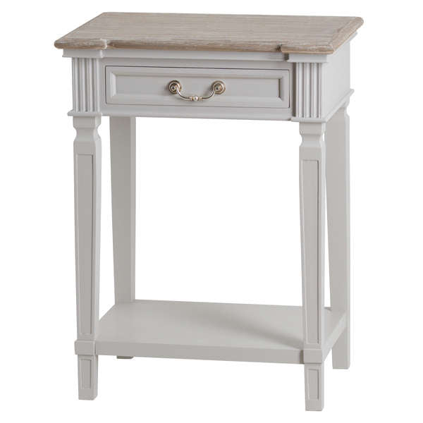One Drawer Hall Table With Shelf