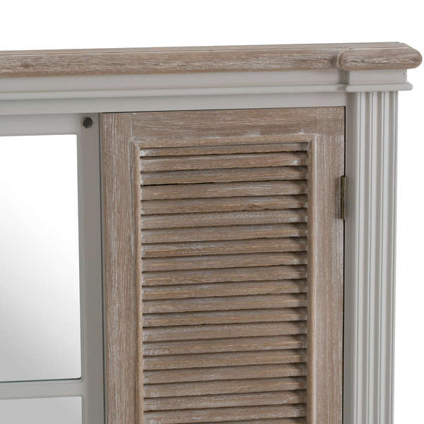 Louvered Doors Mirror